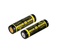 2pcs XTAR batteria ricaricabile 3.7v 2.96wh li-ion 800mAh 14500