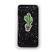 Pour apple iphone 7 plus 7 housse de protection glitter brillant motif back case étui douce silicone gouttes de colle pour iphone 6s plus