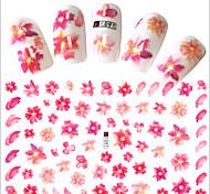 1pcs Hot Fashion Sweet Flower Nail Art 3D Stickers Beautiful Flower Design Decoration For Manicure DIY Beauty F091