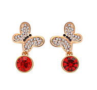 Women's Earrings Jewelry Euramerican Fashion Personalized Rhinestones Alloy Jewelry Jewelry For Wedding Party Anniversary 1 Pair