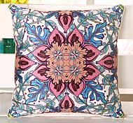 1 Pcs Bohemia Sofa Emulation Silk Cushion Pillowcase Vintage Pillow Cover Top Grade Emulation Silk Pillow Case