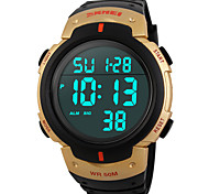 SKMEI® 1068  Men's Woman Solar ElectronicWatches Outdoor Sports Waterproof Sports Electronic Watches 50 Meters Waterproof