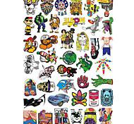 Стикеры и переводные картинки Стикер на скейтборд 20.0*18.0*0.5 см 50 пакетов Учебный для скейтборды