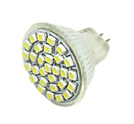G4 GU4(MR11) GZ4 LED Spotlight MR11 30 SMD 3528 180-240 lm Warm White DC 12 V