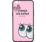 For OPPO R9s  R9s Plus Case Cover Pattern Back Cover Case Cartoon Word / Phrase Hard PC R9 R9 Plus