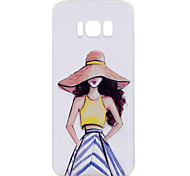 For Samsung Galaxy S8 Plus S8 Phone Case Fashion Girl Pattern Soft TPU Material Phone Case