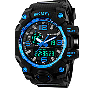 Men's Sport Watch Digital Watch Digital Silicone Band Black