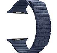 Кожаная петля для серии часов яблока 1 2 38 мм кожаный ремешок для замены 42 мм