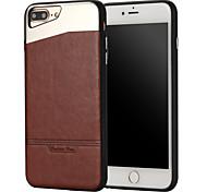 Случай для яблока iphone 7 плюс iphone 6s 6 плюс iphone se 5s 5 case cover the stick кожа с палкой металлические случаи мобильного