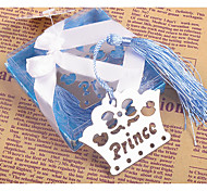 The Blue Crown Metal Bookmark
