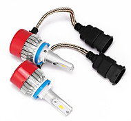 H8 H9 H11 LED Headlights LED Headlight Bulbs with 2 Pcs of Conversion Kits 36W 3600LM Bridgelux CSP Chips Fog Light
