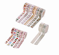 Creative DIY Dot Gilding Decorative Album Stickers & Tapes 15MM*10M 1PC