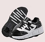 Детские Взрослые Обувь для скейтбординга Дышащий Удобный Защитный Черный/Розовый