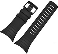 For Suunto CORE ZETHYDUM Watch Band Strap Solid color Silicone  Sport Band