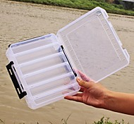 Коробочки Коробка для рыболовной снасти Коробка для мормышек 2 Поддоны*17 см*4.5 Пластик