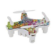 Drohne CX-10D 4 Kan?le 6 Achsen - LED - Beleuchtung Ein Schlüssel Für Die Rückkehr Kopfloser Modus 360-Grad-Flip FlugFerngesteuerter
