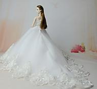 Платья Платье Для Кукла Барби Платья Для Девичий игрушки куклы