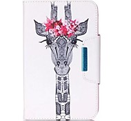 For Apple iPad Pro 9.7'' iPad Pro 10.5'' Air Air2 Case Cover Deer Pattern PU Skin Material Apple Flat Protective Shell