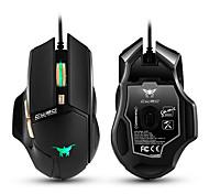 Cw90 3800 dpi с проводными игровыми мышами мышь 6 кнопок дизайн дышащие светодиодные цвета для геймера pc mac