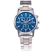 Муж. Модные часы Китайский Кварцевый Нержавеющая сталь Группа Повседневная Серебристый металл