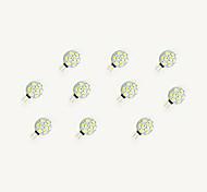 1.5W Luci LED Bi-pin 9 SMD 5630 160 lm Bianco caldo Bianco DC 12 V 10 pezzi