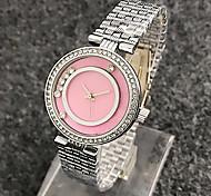 montre femme 2017 new fashion quartz-watch women diamond watches thin dial quartz movtz ladies watch alloy steel vogue watches
