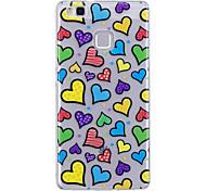 Чехол для huawei p10 lite p10 phone case tpu материал imd процесс любовный узор hd телефон чехол чехол 8 p9 lite p8 lite y6 ii y5 ii