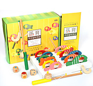 Fishing Toys For Gift  Building Blocks Wooden 1-3 years old 3-6 years old Toys