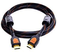 HDMI 2.0 Кабель, HDMI 2.0 to HDMI 2.0 Кабель Male - Male Позолоченная медь 1.5M (5Ft)