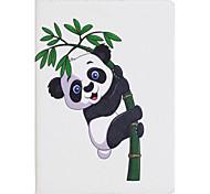 Чехол для ipad mini 1 2 3 мини-4 чехол чехол панды pu материал три раза плоский корпус корпуса компьютера