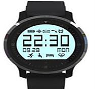 Damen Herrn Smart Uhr digital Caucho Band Schwarz Blau Orange