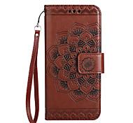 Чехол для samsung galaxy a3 (2017) a5 (2017) чехол для визитной карточки кошелек с флип-шаблоном телефон чехол мандала цветок pu кожа для