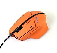 Mouse morbido mz-21 2400dpi 7keys mouse usb con cavo da 150cm