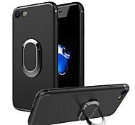 Чехол для apple iphone 7 плюс 7 держатель кольца задняя крышка сплошной цвет мягкий tpu 6s плюс 6 плюс 6s 6