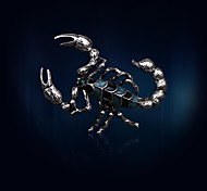 Women's Brooches Scorpion Design Euramerican Fashion Vintage Alloy Jewelry For Dailywear Casual Casual/Daily Club