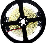 36W Tiras LED Flexibles 3500-3600 lm DC12 V 5 m 600 leds Blanco cálido Blanco