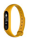 Women's Smart Watch Digital Silicone Band Black Blue Pink Yellow