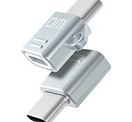DM Type C-M2 USB 2.0 Type-C OTG Portable Adapter For Samsung Huawei Xiaomi PVC