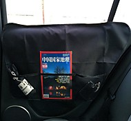 Кошка Собака Чехол для сидения автомобиля Животные Корпусы Водонепроницаемый Компактность Складной Однотонный Черный