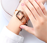 Women's Fashion Watch Quartz Alloy Band Gold