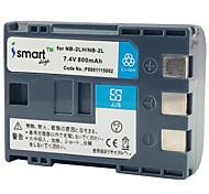 Ismartdigi 2L 7.4V 800mAh Camera Battery for Canon 400D S80 S70 350D G7 G9 S60