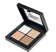 4*9 Paleta de Sombras Brilho Paleta da sombra Maquiagem para o Dia A Dia Maquiagem Esfumada