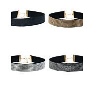 Жен. Ожерелья-бархатки Геометрической формы Уникальный дизайн Бижутерия НазначениеДля праздника / вечеринки На каждый день Одежда для