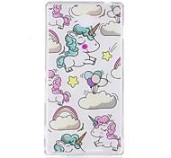 Case for sony m2 xa чехол чехол для unicorn шаблон tpu материал imd craft мобильный телефон кейс