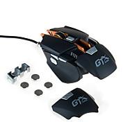 High-end 4000dpi проводной игровой мыши определение макроса привело usb мышь с регулируемой дополнительной весовой частью механической