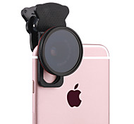 Объектив cpl объектива xihama объектива cpl с фильтром 20x макроалюминиевое стекло объектива алюминиевого сплава для мобильного телефона