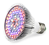 25W E27 LED лампа для теплиц 78 SMD 5730 2500-3200 lm Тёплый белый Красный Синий UV (лампа черного света) V 1 шт.