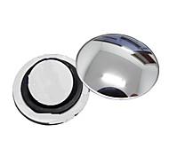 ziqiao 1 шт автомобиль зеркало заднего вида маленькое круглое зеркало широкоугольный регулируемые визуально выпуклая поверхность с