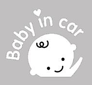 Размахивая младенцем в автомобиль шаблон автомобилей Декоративные наклейки