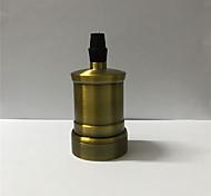 1 шт. E26 / e27 штепсельная вилка луковицы металлическая оболочка средняя основа edison ретро подвесной светильник без переключателя и